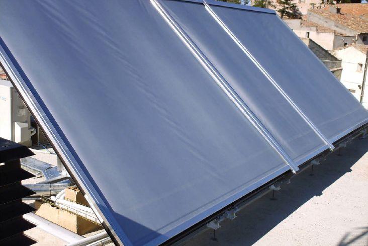 Kubertor Solarschutzanlage